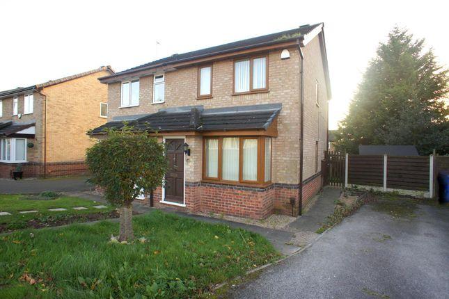 Thumbnail Semi-detached house to rent in Gleadmoss Lane, Oakwood, Derby