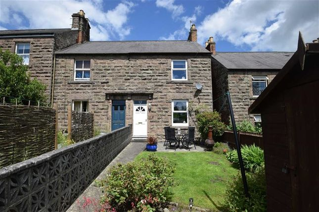 Thumbnail End terrace house for sale in Cromford Road, Wirksworth, Matlock