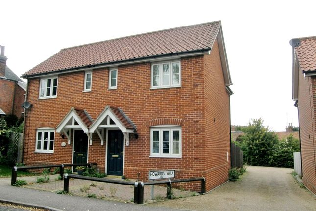 Thumbnail Semi-detached house to rent in St. Johns Road, Saxmundham