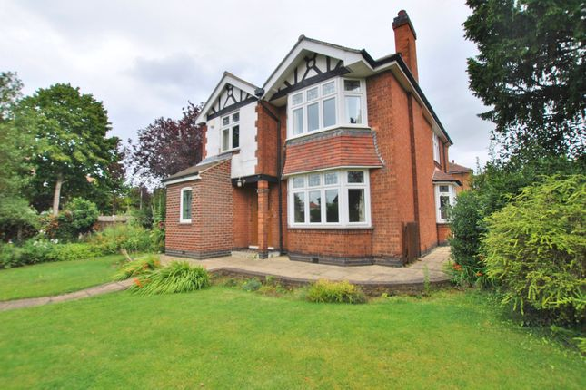 Thumbnail Detached house to rent in Melton Road, West Bridgford