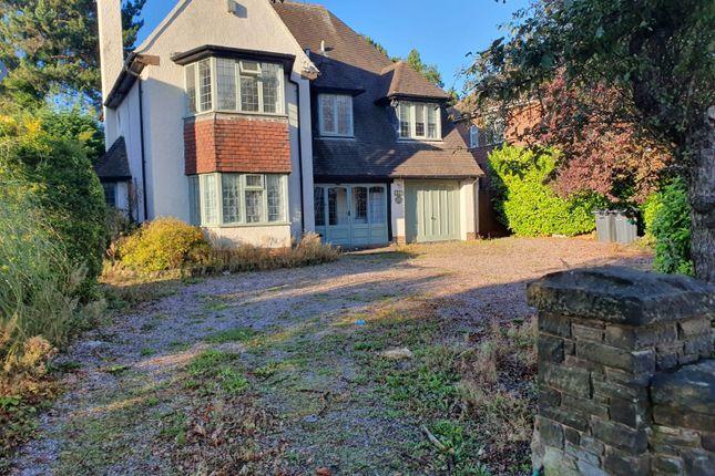Thumbnail Detached house to rent in Chester Road, Erdington
