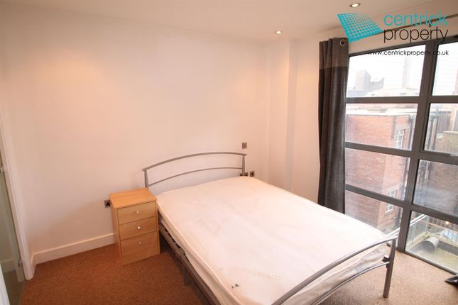 Bedroom of Castle Exchange, 41 Broad Street, Nottingham NG1