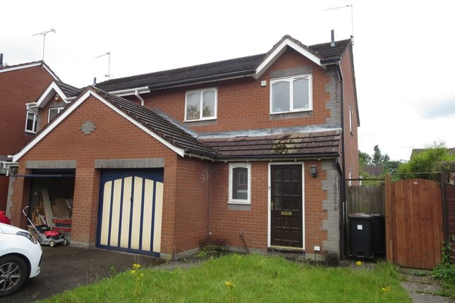 Thumbnail Semi-detached house for sale in Beck Road, Madeley, Cheshire