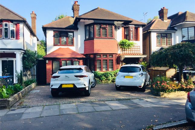 Thumbnail Detached house to rent in Bramley Road, Oakwood, London