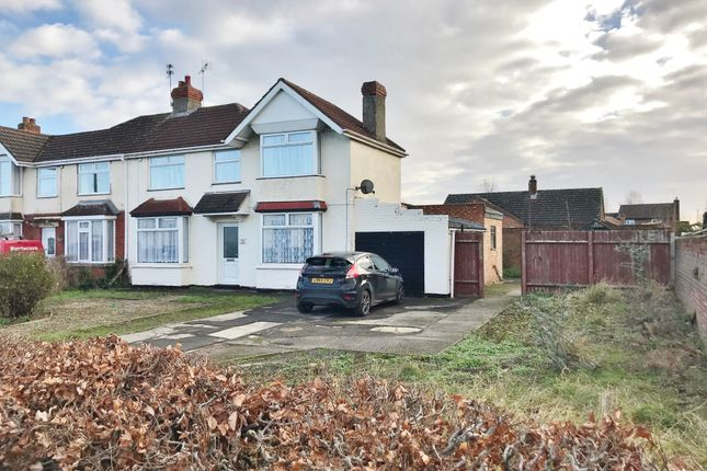 Thumbnail Semi-detached house for sale in Swindon Road, Stratton St. Margaret, Swindon