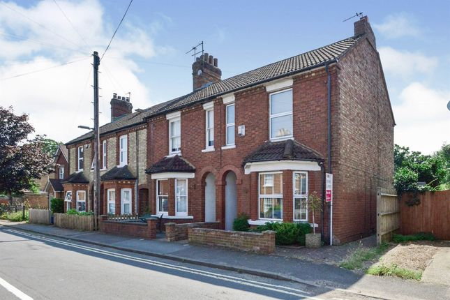 3 bed end terrace house for sale in Russell Street, Woburn Sands, Milton Keynes MK17