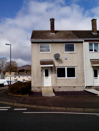 Thumbnail End terrace house to rent in Teviot Grove, Penicuik, Midlothian