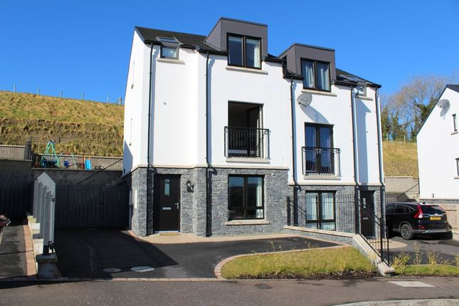 Thumbnail Semi-detached house to rent in Fort Manor, Dundonald, Belfast