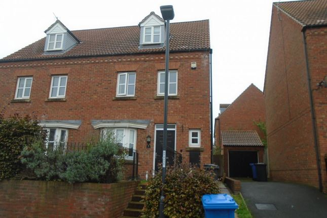 Thumbnail 4 bed semi-detached house to rent in 4 Bedroom Semi-Detached House, Nerissa Close, Chellaston