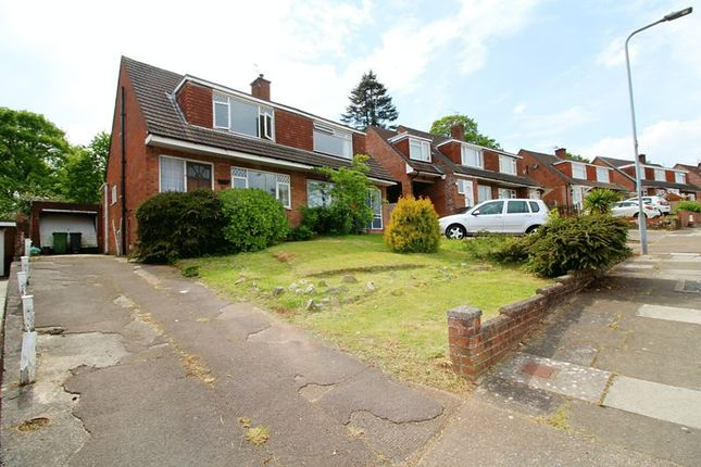 Thumbnail Semi-detached house for sale in Carisbrooke Way, Cardiff
