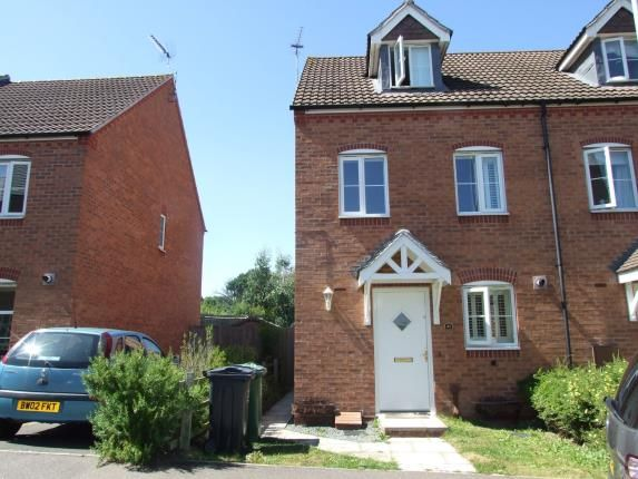 Thumbnail Semi-detached house for sale in Darwin Crescent, Loughborough, Leicestershire