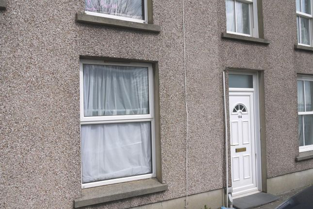 Thumbnail Terraced house to rent in Marble Hall Road, Milford Haven