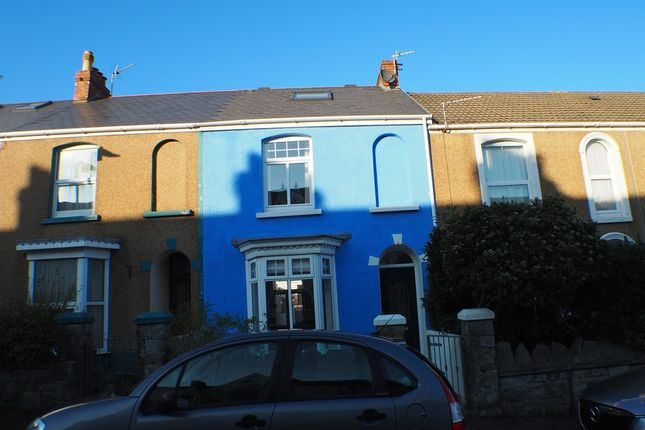 Thumbnail Terraced house to rent in Victoria Avenue, Mumbles