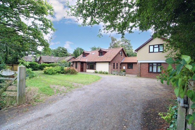 Thumbnail Detached house for sale in Playford Road, Little Bealings, Woodbridge