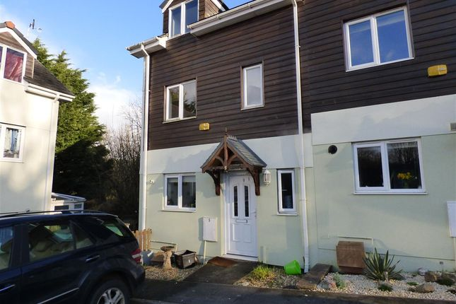Thumbnail End terrace house for sale in The Orchard, Old Totnes Road, Buckfastleigh