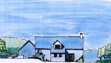 Thumbnail Farmhouse for sale in Grange Farm Steading, Mutehill, Kirkcudbright