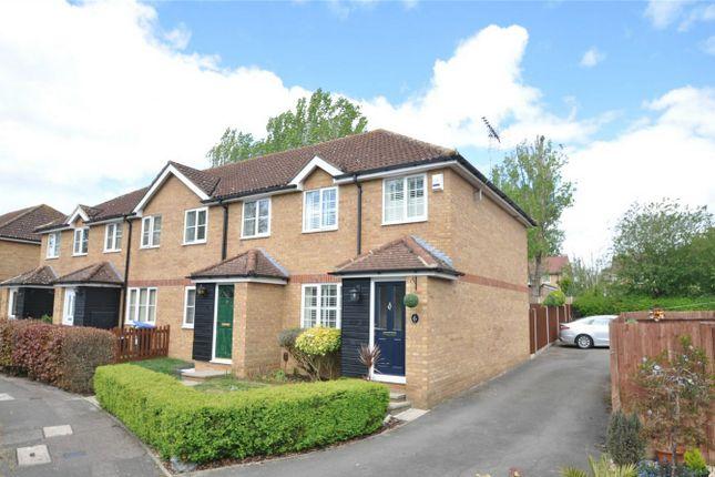 Thumbnail End terrace house for sale in Hurstlings, Welwyn Garden City, Hertfordshire