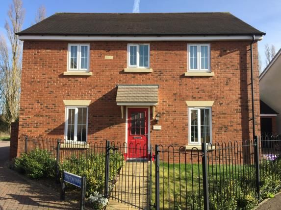 Thumbnail Detached house for sale in Fenton Way Kingsway, Quedgeley, Gloucester, Gloucestershire