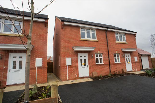 Thumbnail Semi-detached house to rent in Nottingham Drive, Littleover, Derby