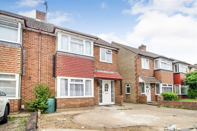 Thumbnail Semi-detached house to rent in Blossom Way, West Drayton, Greater London