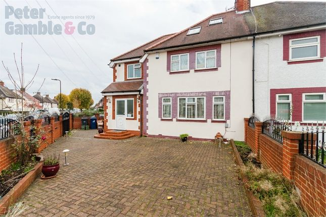 Thumbnail Semi-detached house for sale in Lily Gardens, Wembley, Greater London
