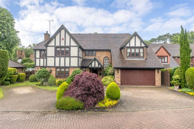 Thumbnail Detached house for sale in Shepherds Walk, Bushey Heath, Bushey, Hertfordshire