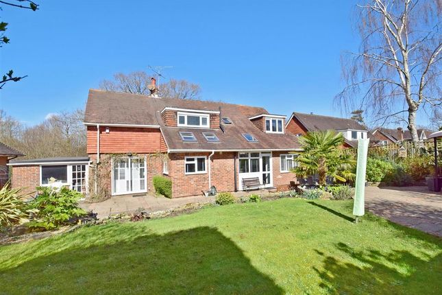 Thumbnail Detached house for sale in Snatts Road, Uckfield, East Sussex