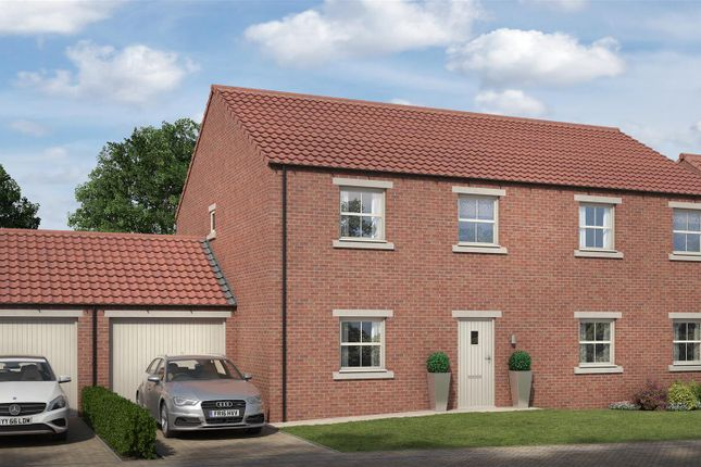 Thumbnail Semi-detached house for sale in Rokesby Place, Pickhill, Thirsk