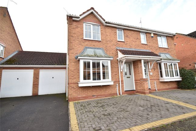 Thumbnail Semi-detached house to rent in Showell Green, Droitwich Spa, Worcestershire