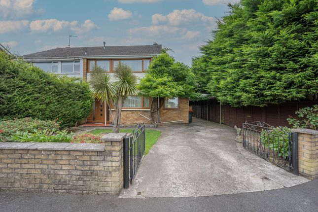 Thumbnail Semi-detached house for sale in Hillview Crescent, Newport