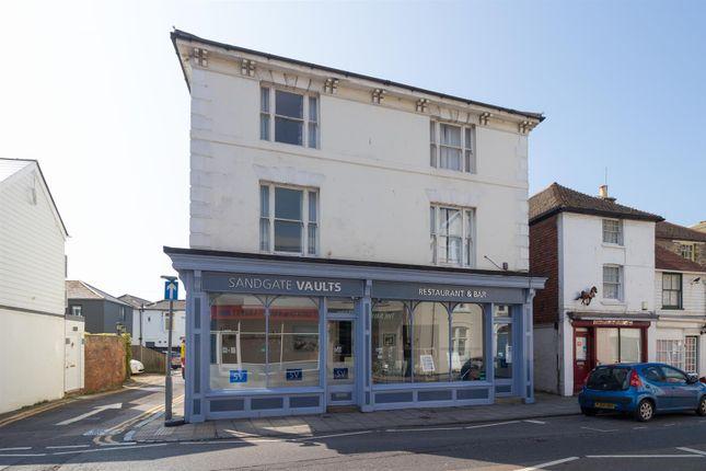 Thumbnail Commercial property to let in Sandgate High Street, Sandgate, Folkestone