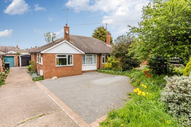Thumbnail Semi-detached bungalow for sale in Marshalls Road, Raunds, Wellingborough