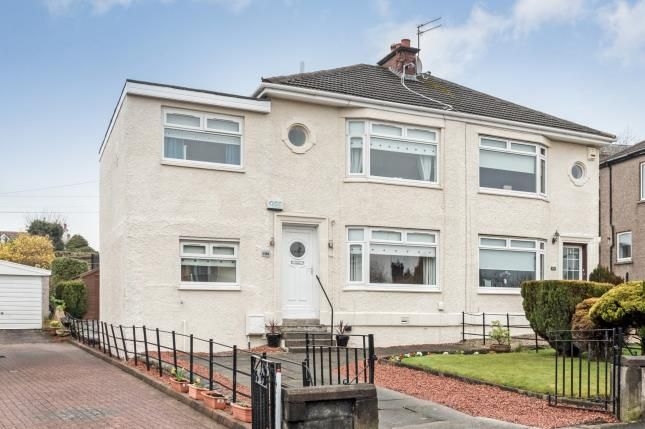 Thumbnail Semi-detached house for sale in Newtyle Road, Paisley, Renfrewshire