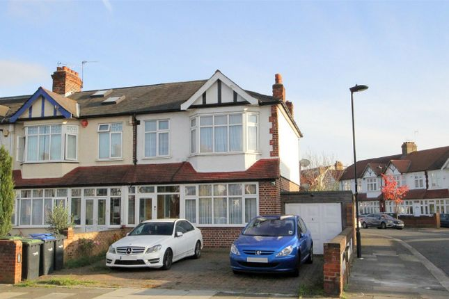 Thumbnail End terrace house for sale in Halstead Road, London