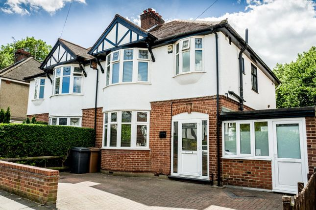 Thumbnail Semi-detached house for sale in Vicarage Road, Chelmsford