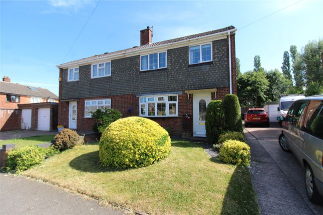 3 bed semi-detached house for sale in Red Lion Crescent, Norton Canes, Cannock, Staffordshire WS11
