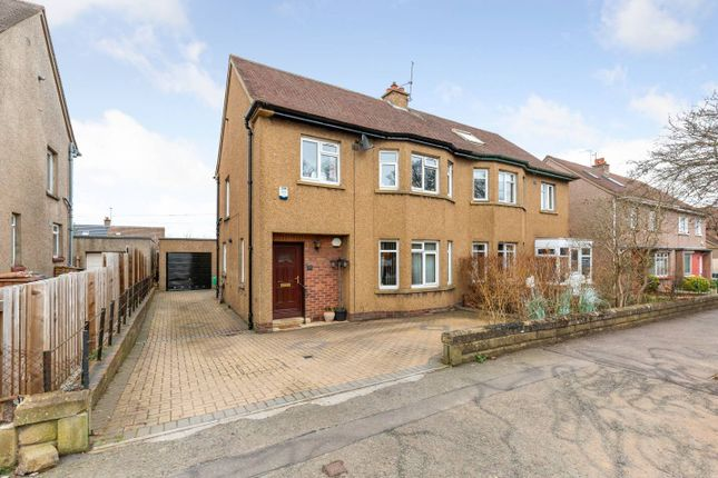 Thumbnail Semi-detached house for sale in 19 West Mains Road, Blackford