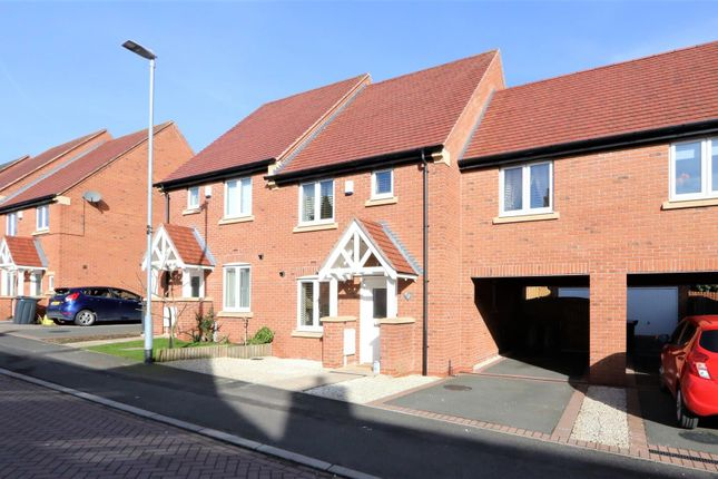 Thumbnail Terraced house for sale in Hart Drive, Measham