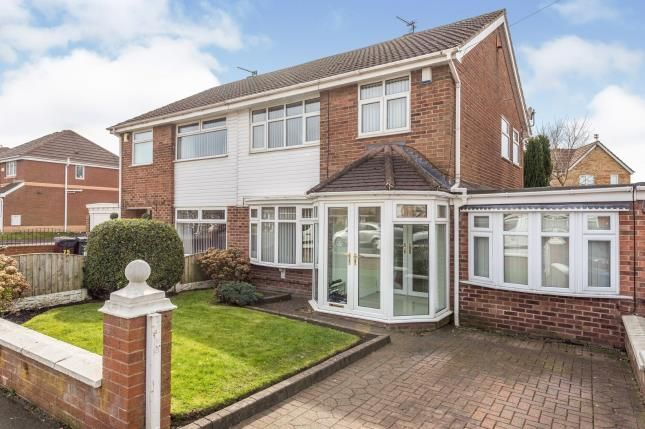 Thumbnail Semi-detached house for sale in Saxon Way, Kirkby, Liverpool, Merseyside