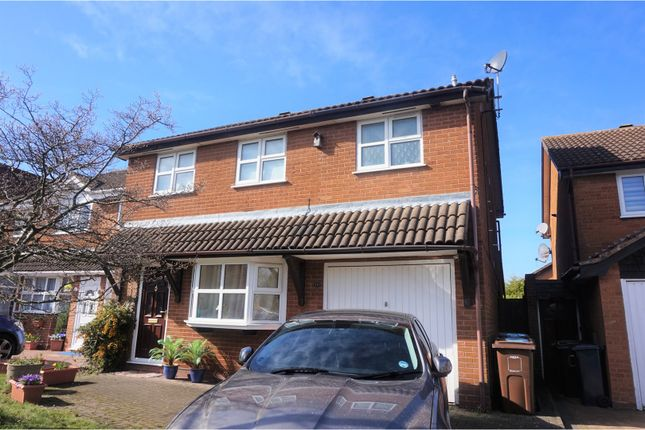 Thumbnail Detached house for sale in Rushford Close, Solihull