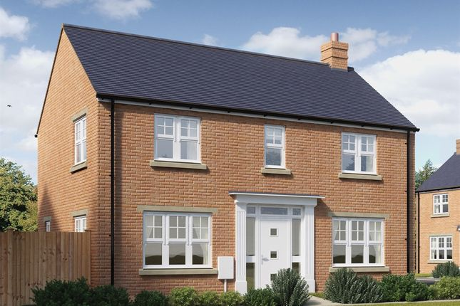 """Thumbnail Detached house for sale in """"The Himbleton"""" at Snowberry Lane, Wellesbourne, Warwick"""