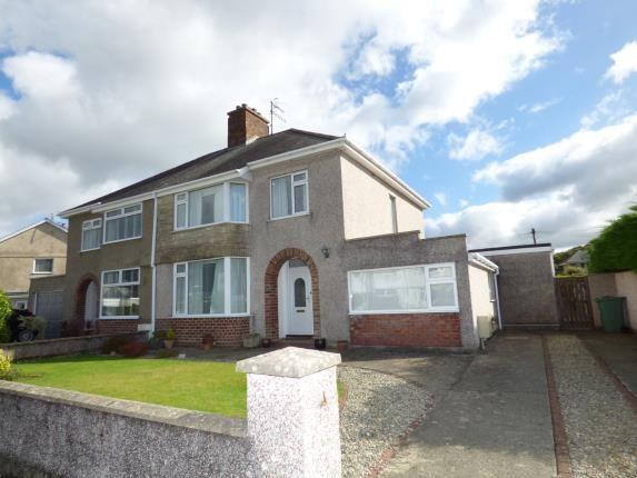 Thumbnail Semi-detached house for sale in Meadow Drive, ., Porthmadog, Gwynedd