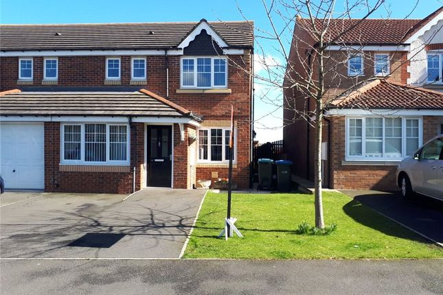 Thumbnail Semi-detached house for sale in Ellerby Mews, Thornley