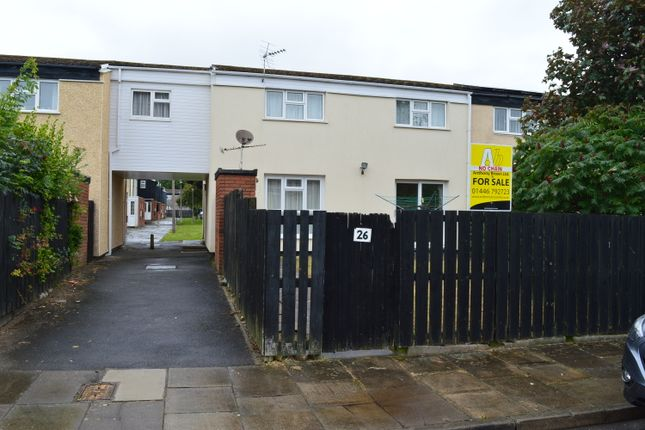 Thumbnail End terrace house for sale in Shackleton Close, St Athan