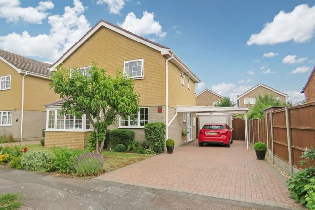 Thumbnail Detached house for sale in Dene Way, Upper Caldecote, Biggleswade