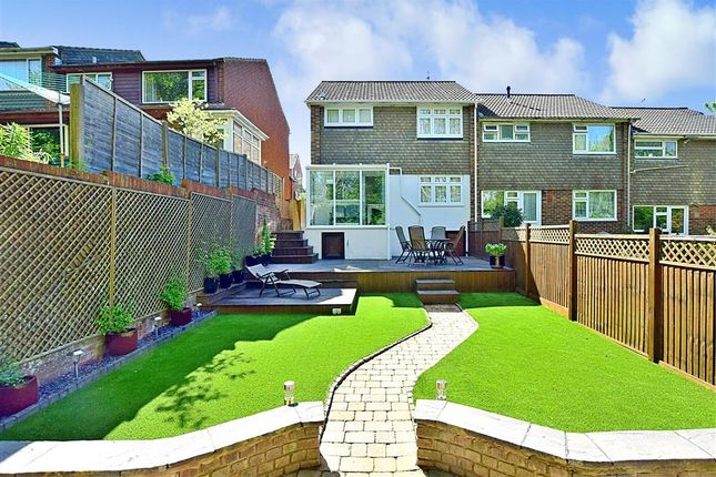 Rear Garden of Brentwood Crescent, Brighton, East Sussex BN1