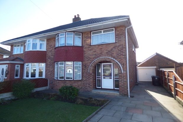 Thumbnail Semi-detached house to rent in Haweswater Grove, Maghull, Liverpool