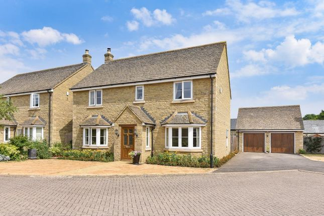 Thumbnail Detached house for sale in Willows Lodge, Stratton Audley