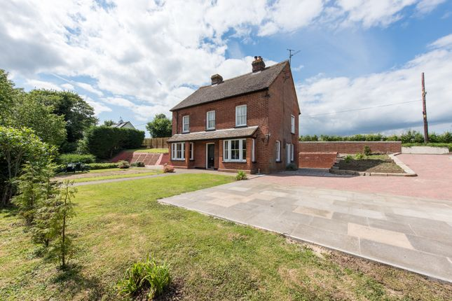 Thumbnail Detached house for sale in Wethersfield Road, Sible Hedingham, Halstead