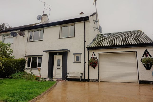 Thumbnail End terrace house for sale in Carmoney Park, Derry / Londonderry